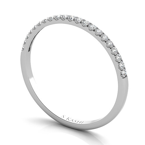 Style # EN7330-BWG  0.14 ctw. WHITE GOLD MATCHING BAND