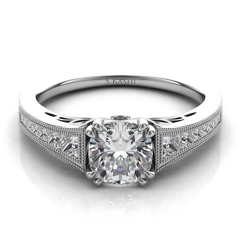 0.40 ctw. WHITE GOLD ENGAGEMENT RING