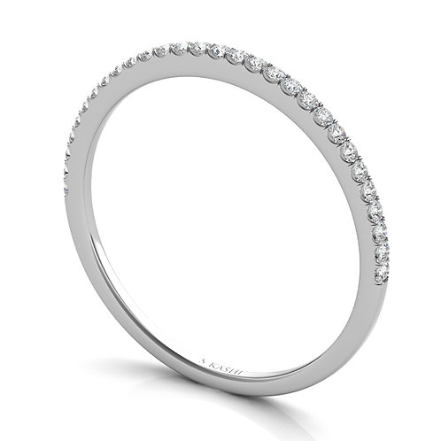 Style # EN7327-BWG  0.10 ctw. WHITE GOLD MATCHING BAND