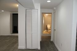 Basement Laundry & Full Bathroom