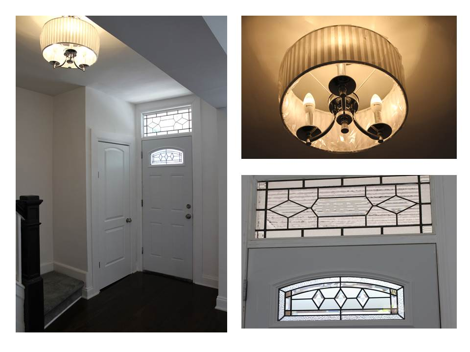 The New Door and Chandelier