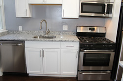 New Dishwasher and Cabinet