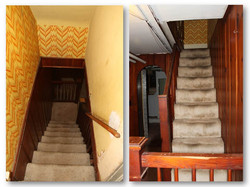 Old Basement Stairs