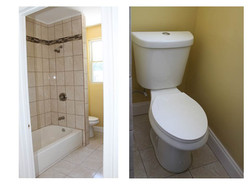 New Bathroom and Toilet