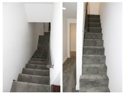 Stairs going to the Basement