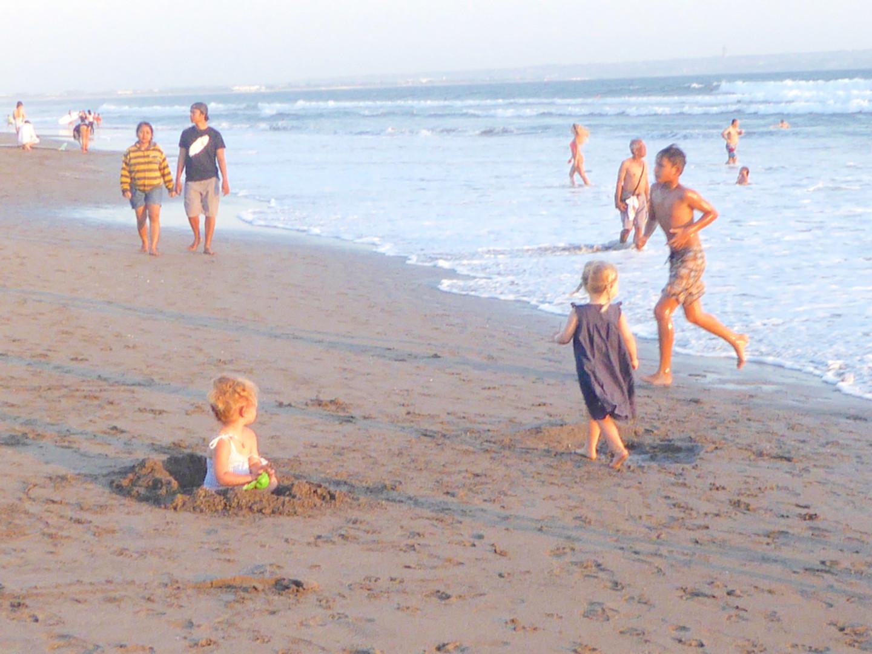 Berawa beach life