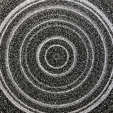 Concentric Ink 5, 2019
