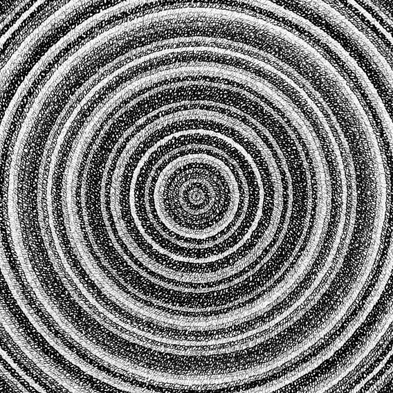 Concentric Ink 4, 2019