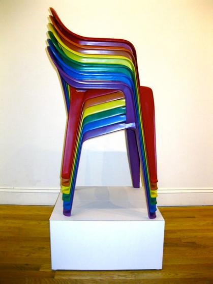 LGBTQI (Monobloc Chairs), 2009