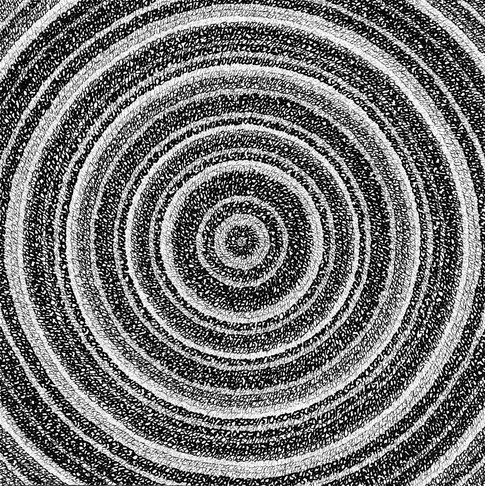 Concentric Ink 3, 2019