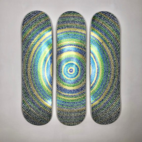 Triptych 1: Peacock, 2021