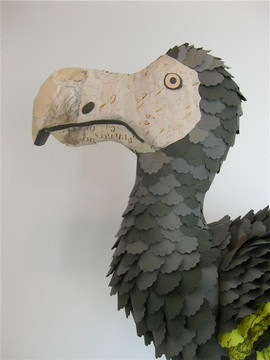 Paper Dodo Bird (detail), 2009