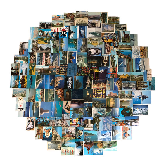 Blue Postcards, 2018