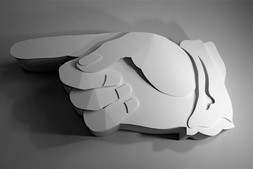 Giant Pointing Hand, 2008