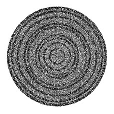 Concentric Ink 1, 2018