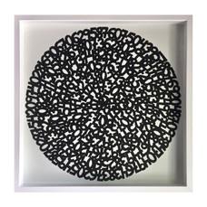 Concentric Black, 2017