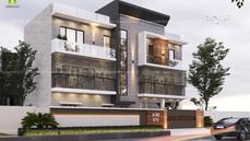 Residence design at Dhurwa, Ranchi