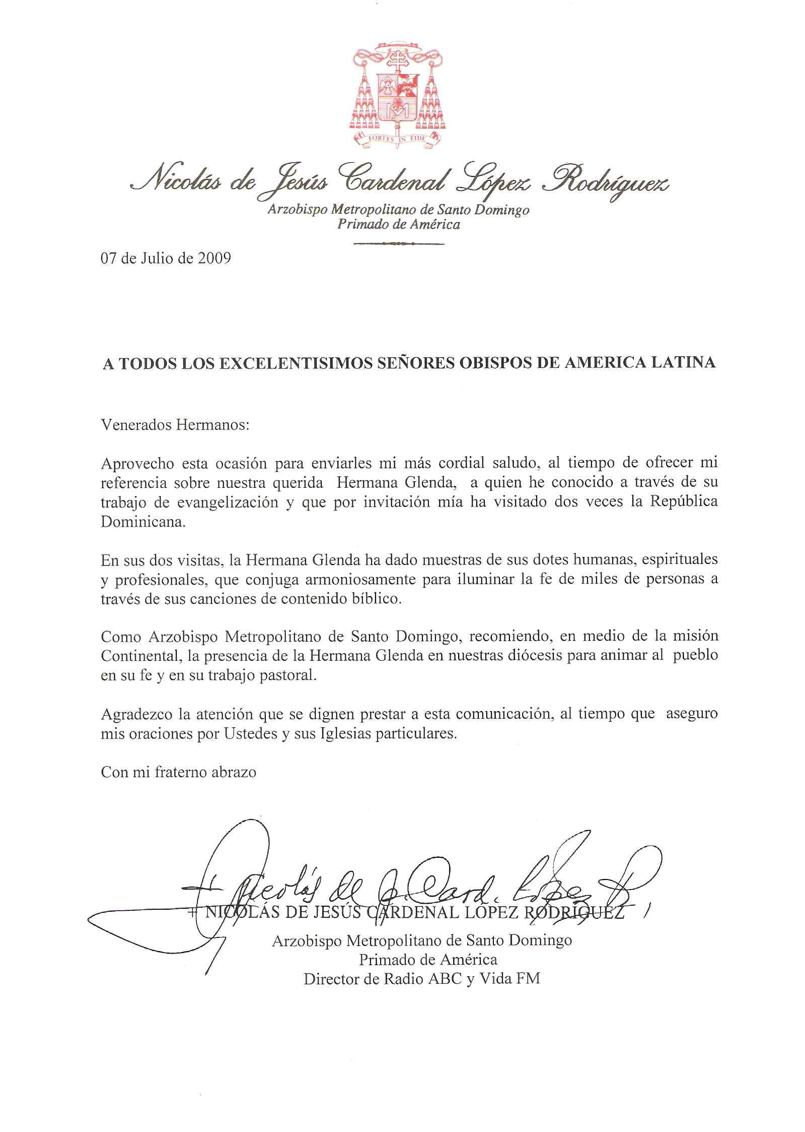 CARDENAL DE R. DOMINICANA