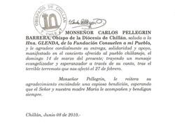 OBISPO DE CHILLAN, CHILE