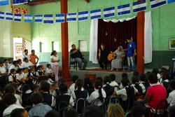 VISITA A COLEGIO POBRE EN MANAGUA