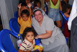 VISITA COMEDOR NIÑOS EN NICARAGUA