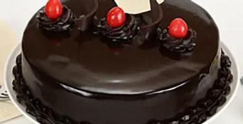 Love You Truffle Cake