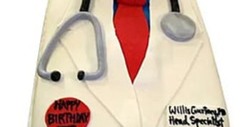 Doctor Set Fondant Cake