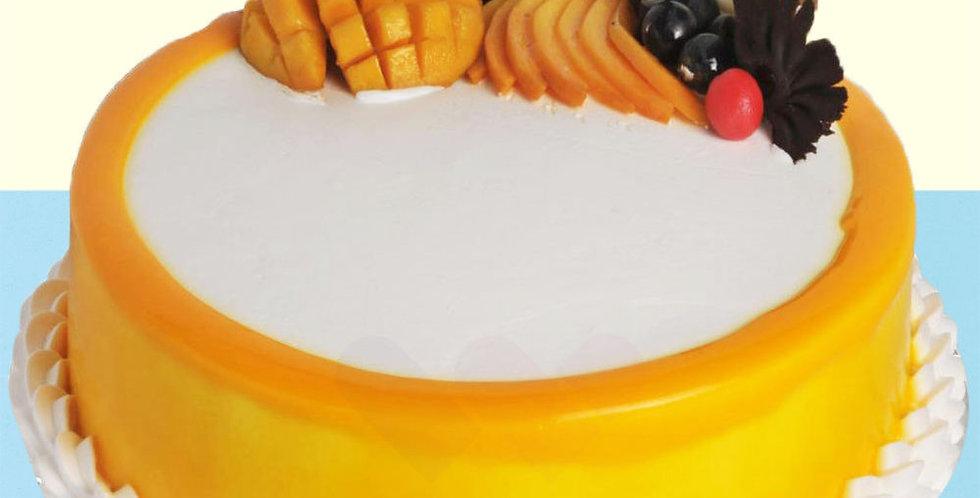 Mouth-watering Mango Cake