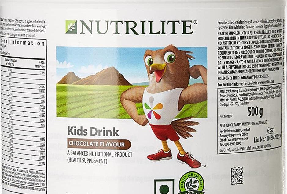 Nutrilie Kids Drink Choclate Powder