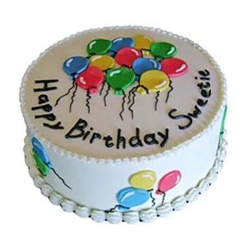 Appealing Balloon Cake