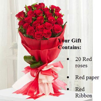 The Big Bouquet of Roses