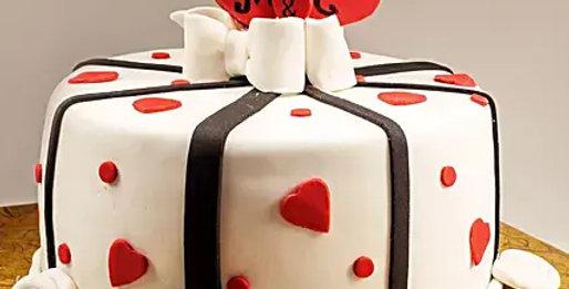 Lovely Chocolate Fondant Cake