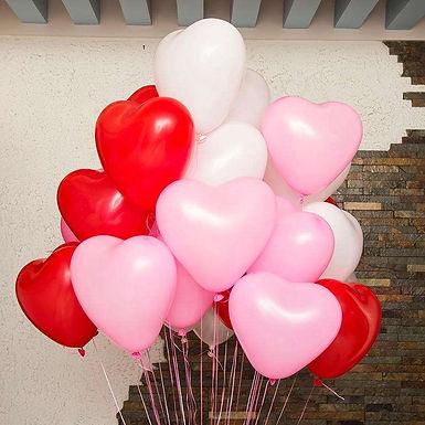 Assorted Heart Balloons