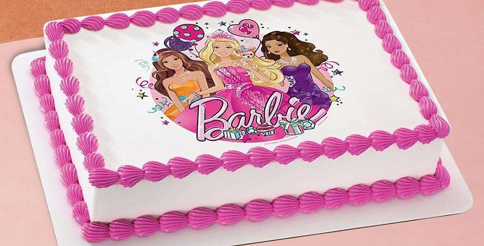 Delicious Barbie Cake
