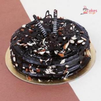 Dry Fruits Truffle Cake