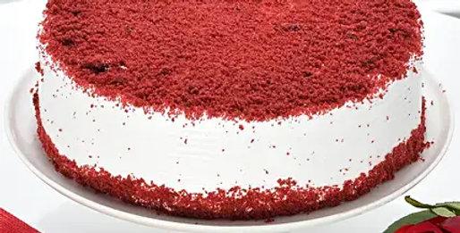 Red Velvet Fresh Cream Cake