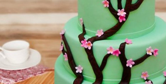 Flora Fondant Cake