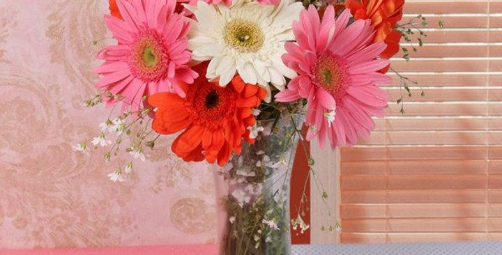 Life in vase