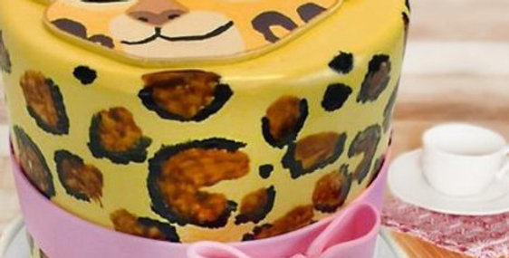 Flavoursome Tigress Fondant Cake