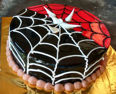 Twin Webbed Cake