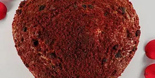 Crumbled Red Velvet Cake