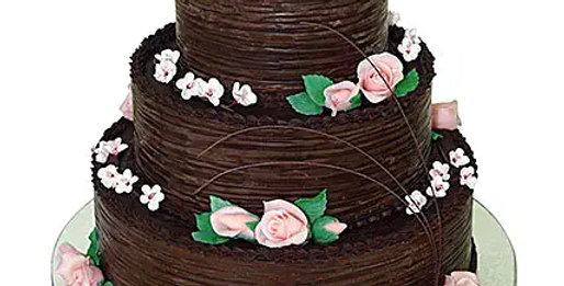 3 Tier Chocolate Cream Cake