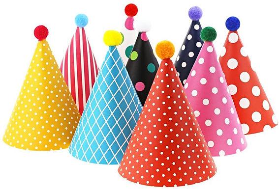 Birthday Party Cone Hats