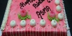 Strawberry Designer Cake