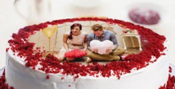 Photo Red Velvet Cake