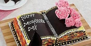 Secret Diary Fondant Cake