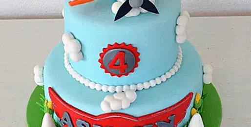 2 Tier Embellished Cake