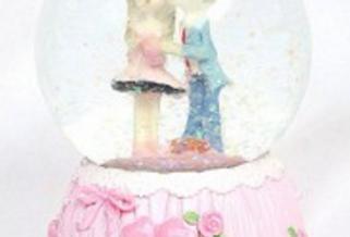 Cute Couple Snowglobe