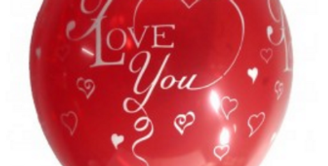 The 'I love you' Balloons