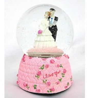 Married Couple Snow Globe